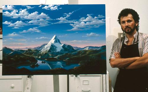 Dario Campanile Paramount Mountain Painting