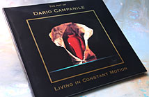 Dario Campanile Book, Living in Constant Motion