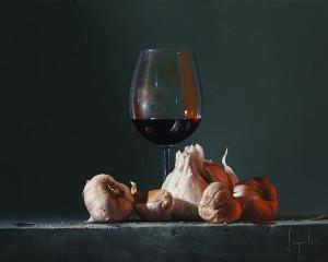 Aglio Con Vino (Garlic with Wine)