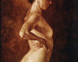 Nudo di Profilo (Nude Profile)