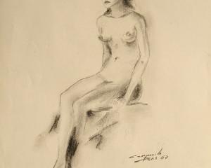 Studio Di Donna Seduta (Study of a Seated Woman)