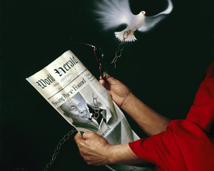 Missing Peace Found – Portrait of the Dalai Lama