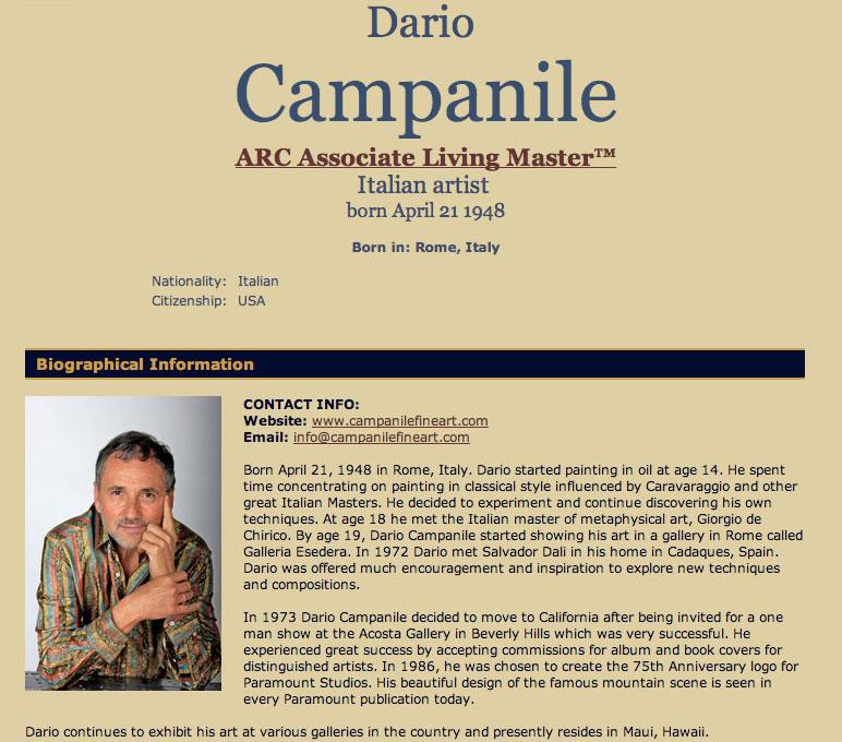 Dario Campanile Living Master